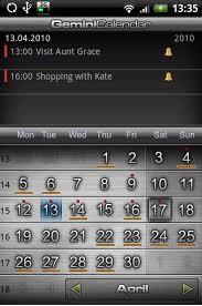 лучший календарь +для android
