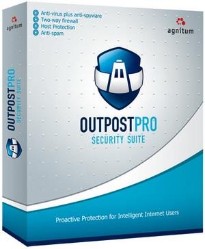 Agnitum Outpost Security Suite Pro - комплексная защита компьютера в Интернете от любых угроз