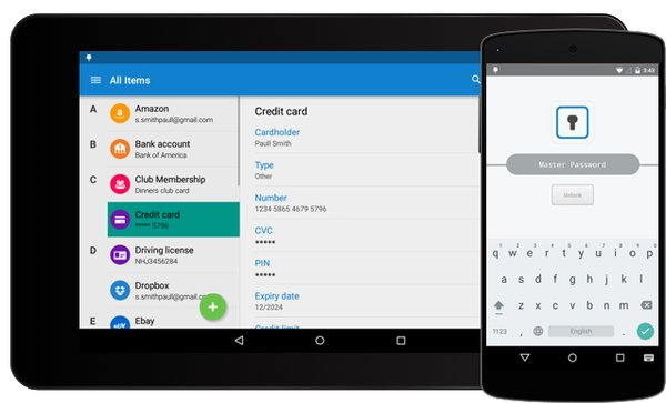 Лучший менеджер паролей - enpass android (PRO версия)