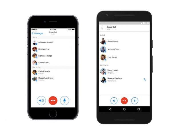 Наконец то - В Facebook Messenger появились групповые звонки