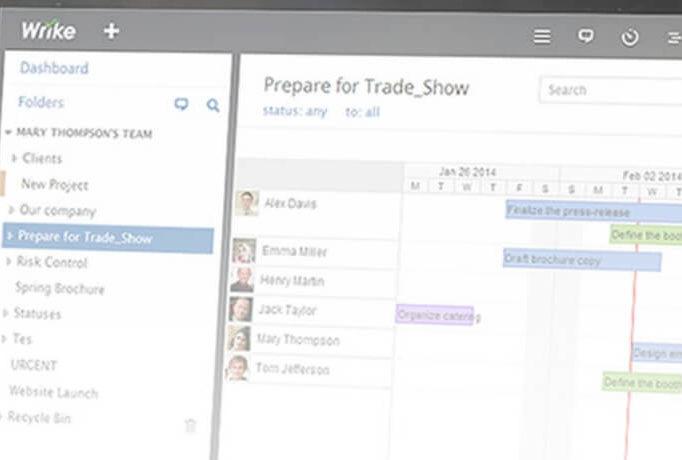 С Wrike ваши процессы будут прозрачными и эффективными как никогда.