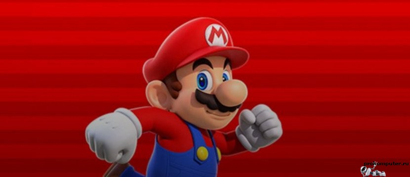 Super Mario на android и iOS