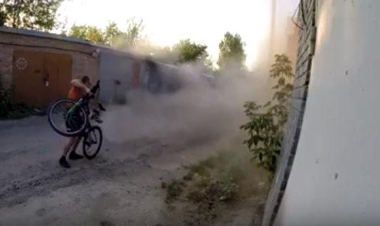 Реактивный велосипед своими руками (делай САМ) :)