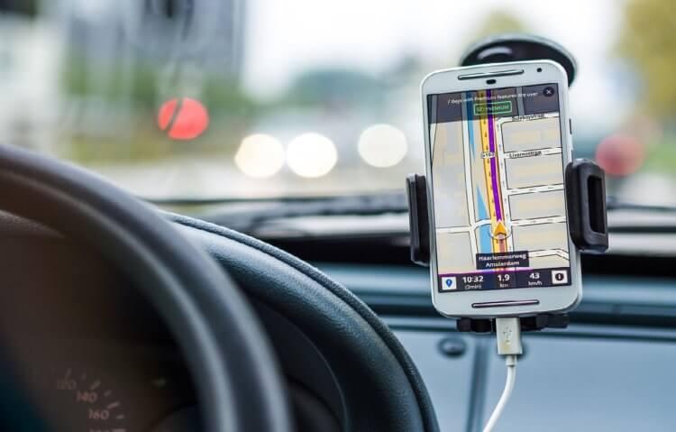 Навигатор из телефона Android