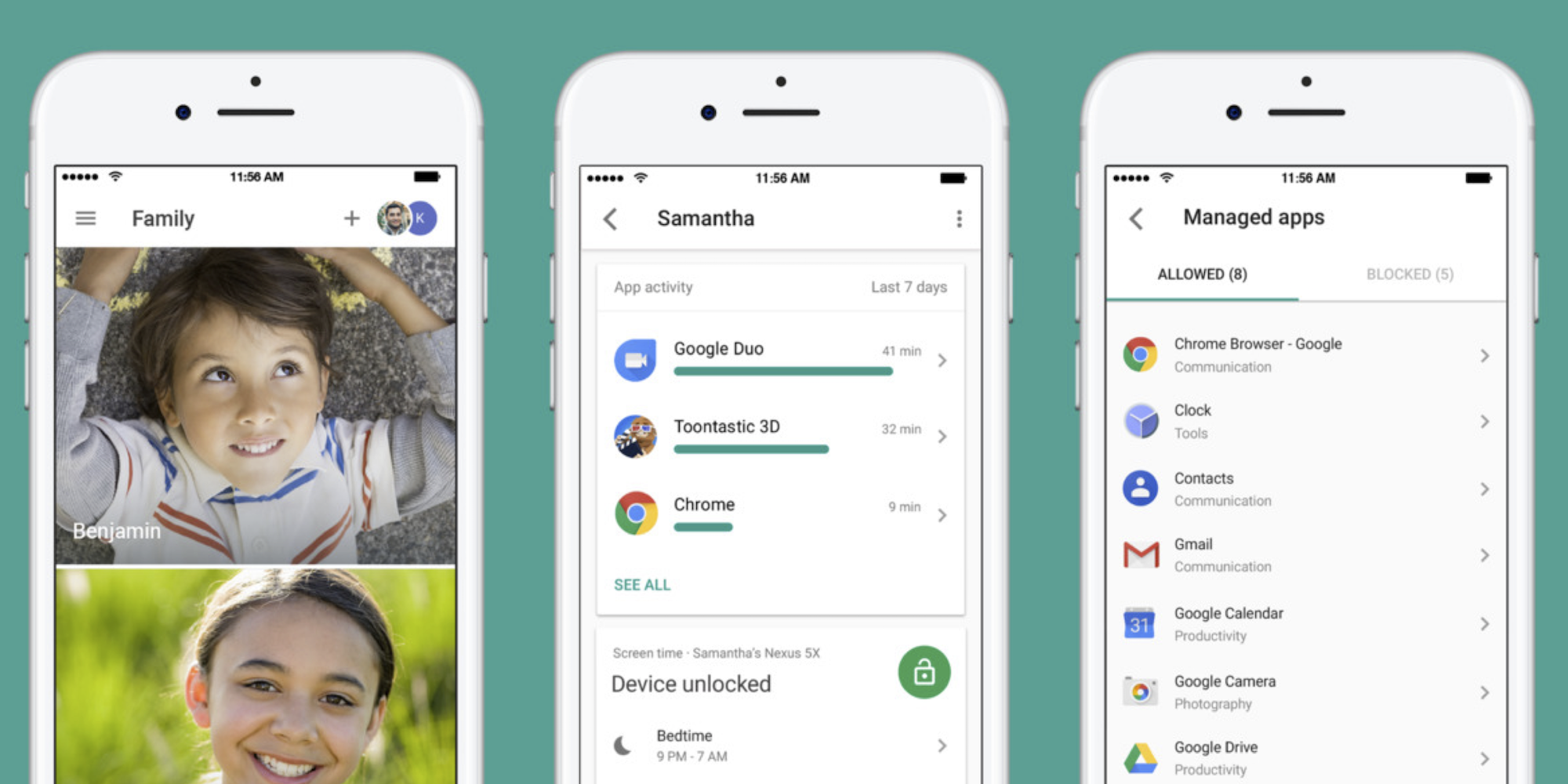 Google's Family Link app Android