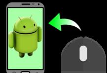 Устройство Android вместо мыши или клавиатуры