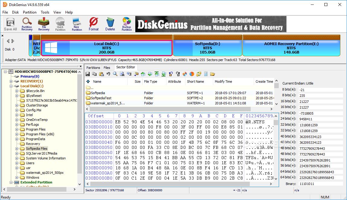 Download DiskGenius (PartitionGuru) 5.4.1 Build 1178