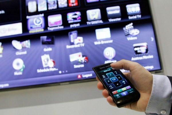 Смартфон как пульт для телевизора