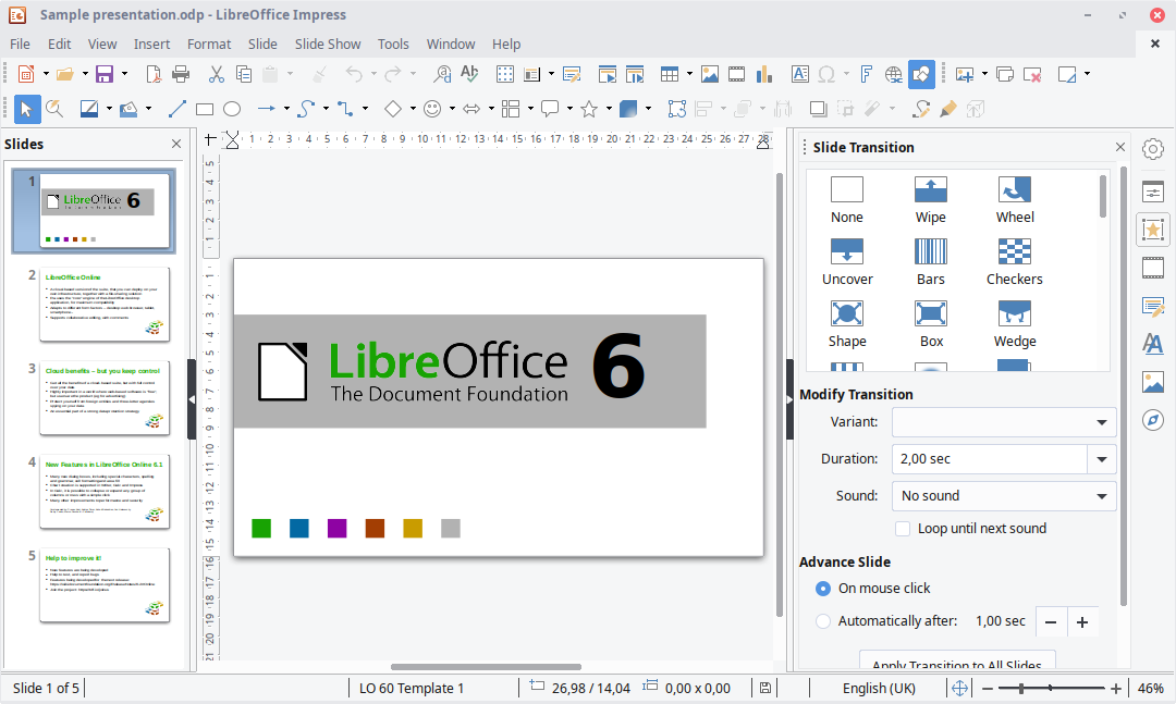 Screenshots | LibreOffice - Free Office Suite - Based on OpenOffice -  Compatible with Microsoft