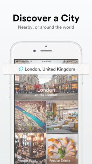Spot-explore-the-best-places-app-screenshot