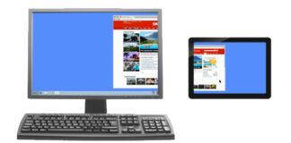 Дополнительный монитор для компьютера из устройства Android