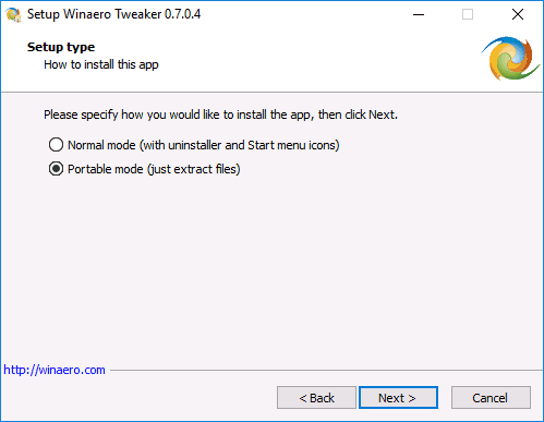Winaero Tweaker для настройки Windows