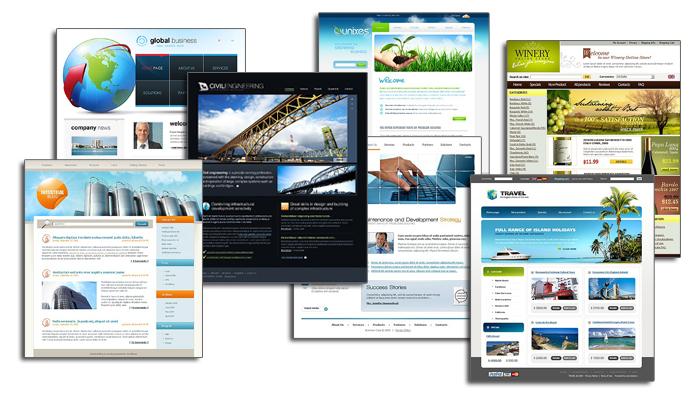 какие основные типы сайтов существуют