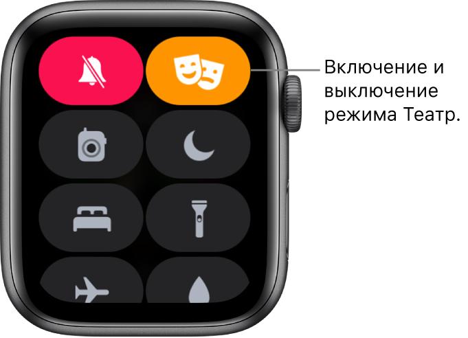 Использование Пункта управления на Apple Watch - Служба поддержки Apple