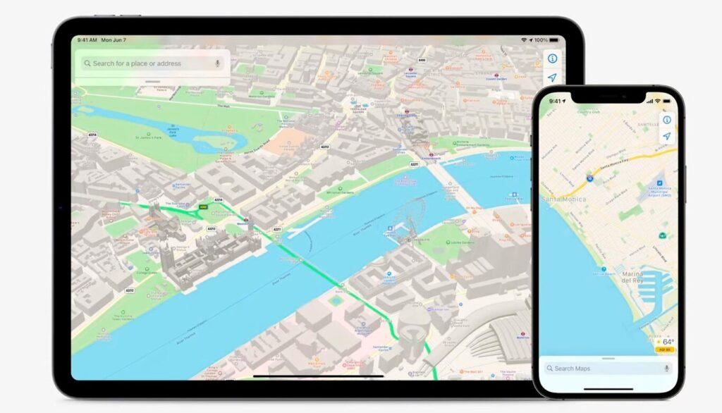 Новая Apple Maps