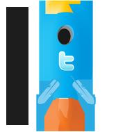 Тестовая версия TwitRocket - программа для удобного общения в твиттере. Автоматизируются!