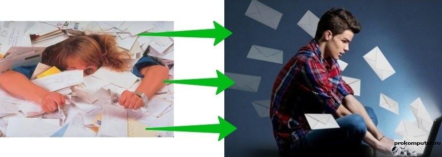 Как тратить меньше времени на электронную почту. Зависимость