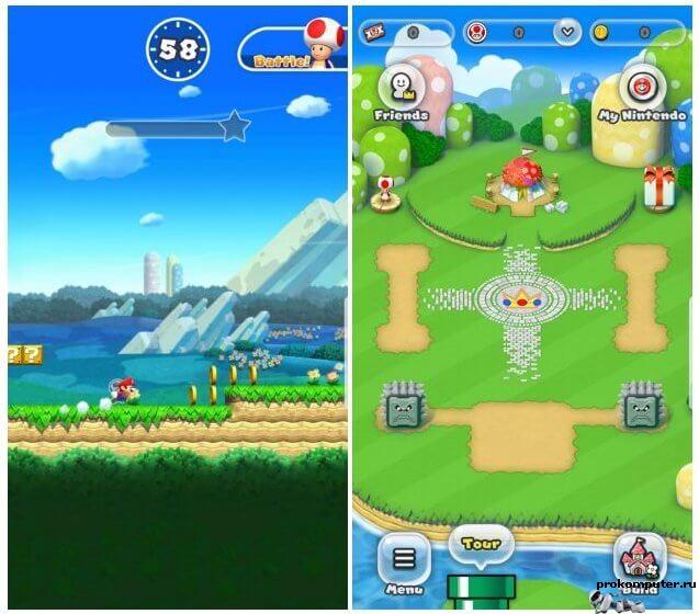 Super Mario Run вышел на android и iOS