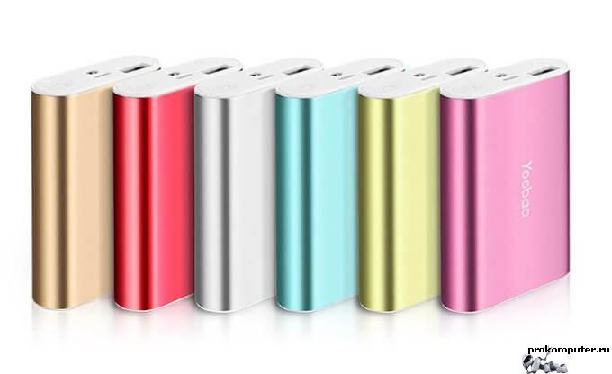 Выбираем внешний аккумулятор для смартфона ПРАвильно