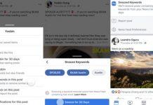В Facebook добавят блокировку контента по ключевым словам
