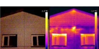 Применение тепловизора в строительной отрасли